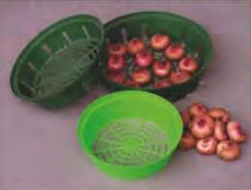 Корзинка для посадки луковиц (30см диаметр)