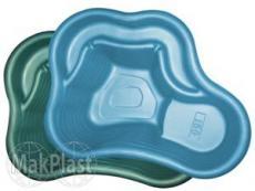 Пруд пластиковый садовый 150л (синий)