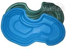 Пруд декоративный садовый  640л (синий)