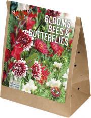 Смесь для пчел и бабочек бело-красная 30шт/упак
