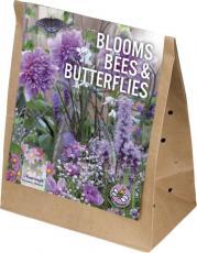 Смесь для пчел и бабочек фиолетово-розовая 30шт/упак